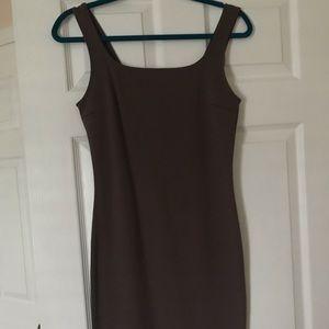 F21 brown tight dress